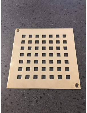 Grate in brass