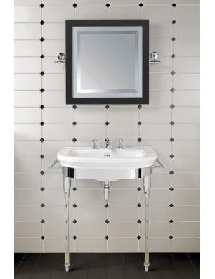 CARLYON Stor håndvask på stel og glas