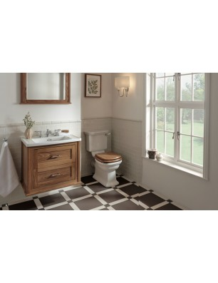 Radcliffe sink with cupboard and door