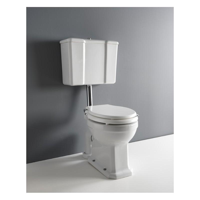 Albano toilet med lav cisterne
