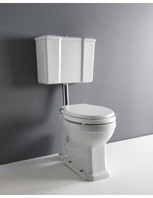 Albano pan and low level cistern