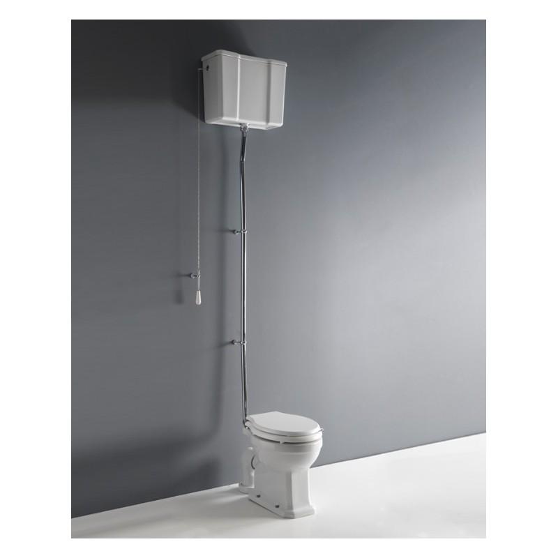 Albano toilet med høj cisterne