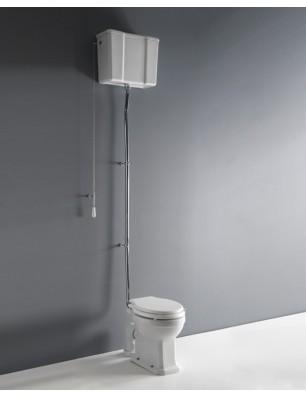Albano pan och hög nivå cistern