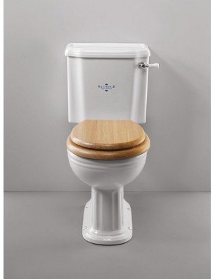 Belgravia toilet med fast cisterne
