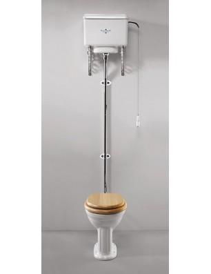 Belgravia toilet med høj cisterne