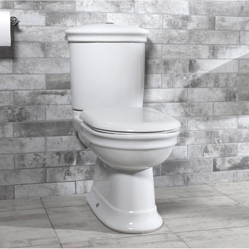 Hillingdon toilet med fast cisterne