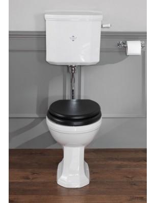 Empire toilet med lav cisterne