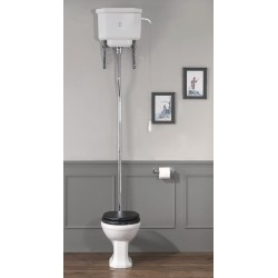 Empire pan and high level cistern