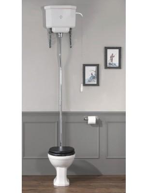 Empire toilet med høj cisterne