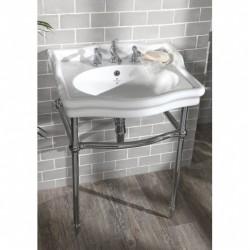 Loxley 650 Classic stor håndvask på stel