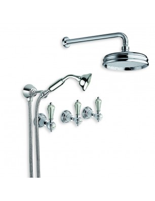 6022 Dronning faucet wall mounted shower