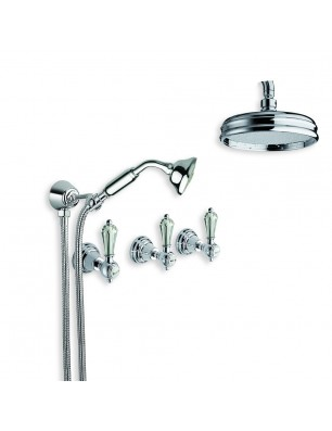 6022-l dronning kran väggmonterad dusch