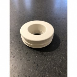 Gasket in rubber for toilet