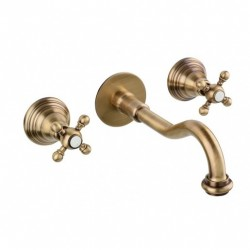 6009 Ulisse mixer for wall mounting