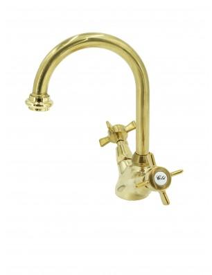 3010-P Waterspring vandhaner 1 huls messing