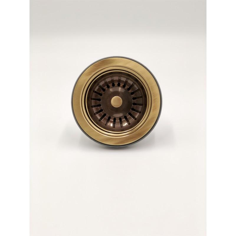 La vanne de fond de Ø 90 mm bronze