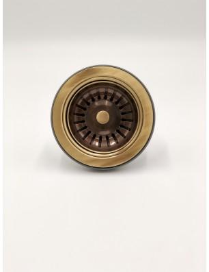 Bottenventil 90 Ø mm brons