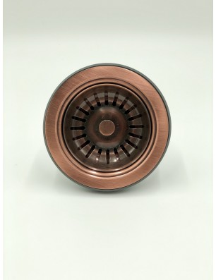 Bundventil  90 Ø mm kobber