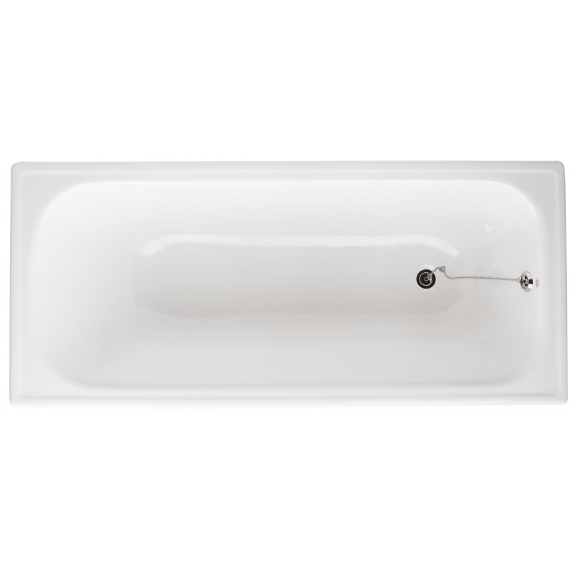 Normal cast iron built-in bathtub