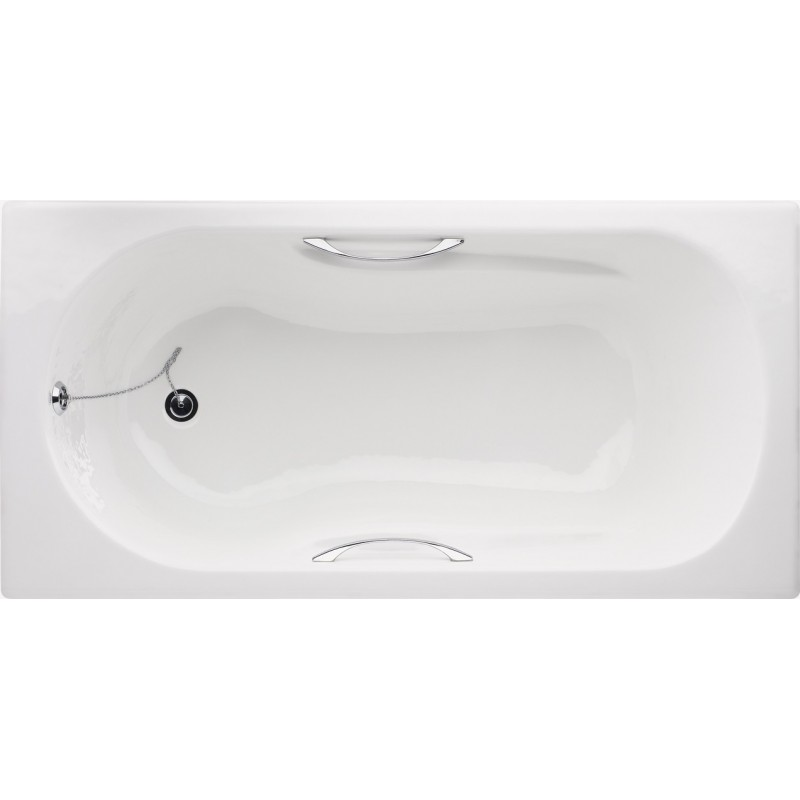 Star cast iron built-in bathtub