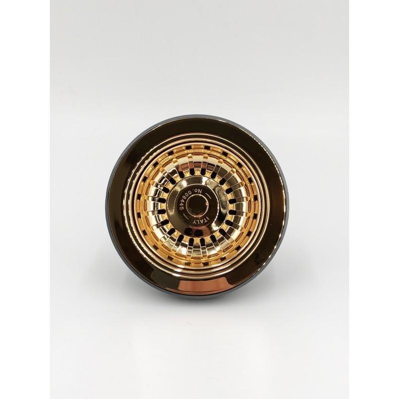 Bottom valve 90 Ø mm gold
