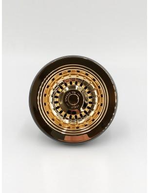 Bundventil  90 Ø mm guld