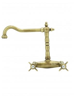 3013 Waterspring armatur til væg bronze