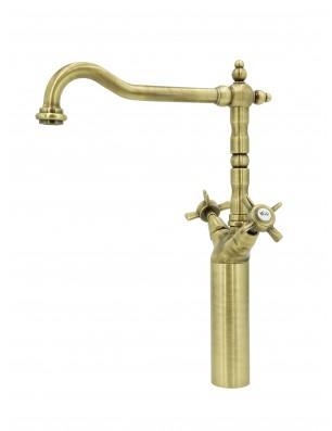 6007 HL Waterspring armatur 1-huls bronze