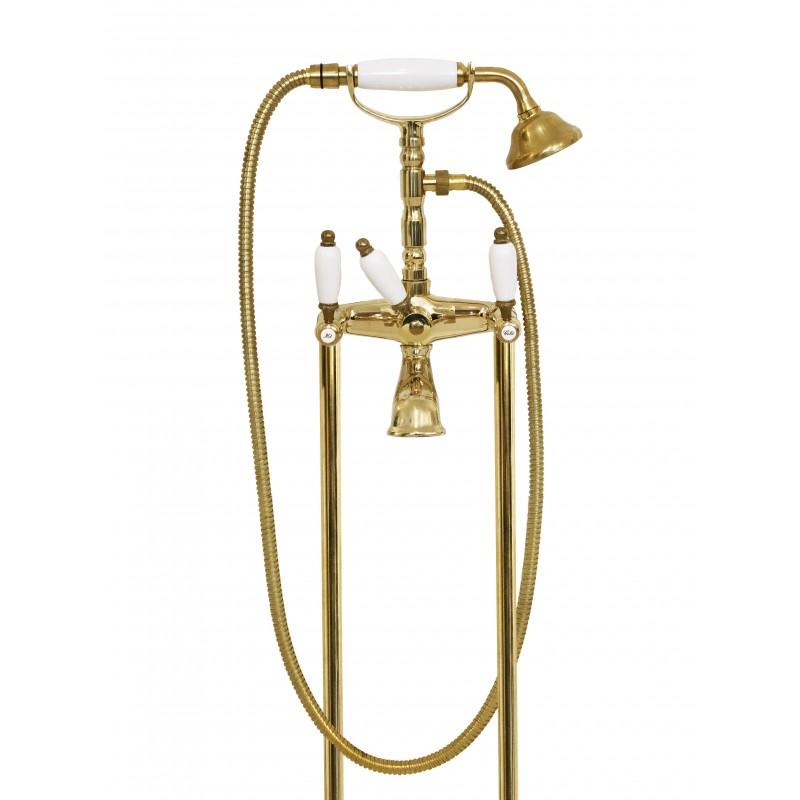 6000 + 6020 Penelope Wasserhahn für Badewanne