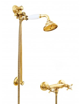 6019 + 704 Water spring faucet shower