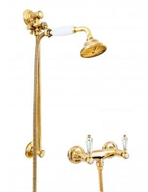 6019 + 704 dronning kran för dusch