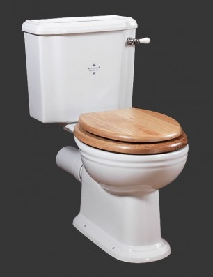 Victorian close coupled pan and cistern