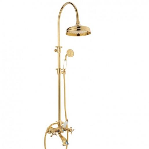 Doccia arco + 6040 Ulisse armatur til bruse-badekar