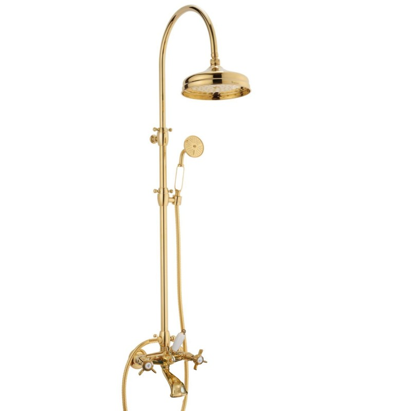 Doccia arco + 6040 Water Spring faucet to the shower-bath