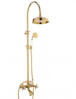 Doccia arco + 6040 WaterSpring armatur til bruse-badekar