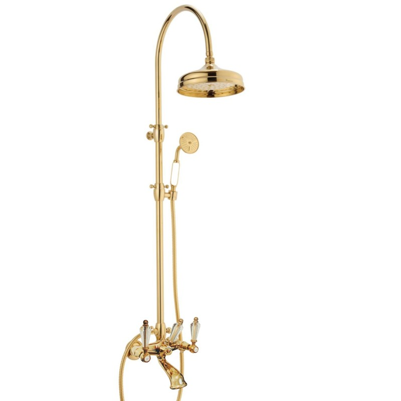 Doccia arco + 6040 Dronning faucet to the shower-bath