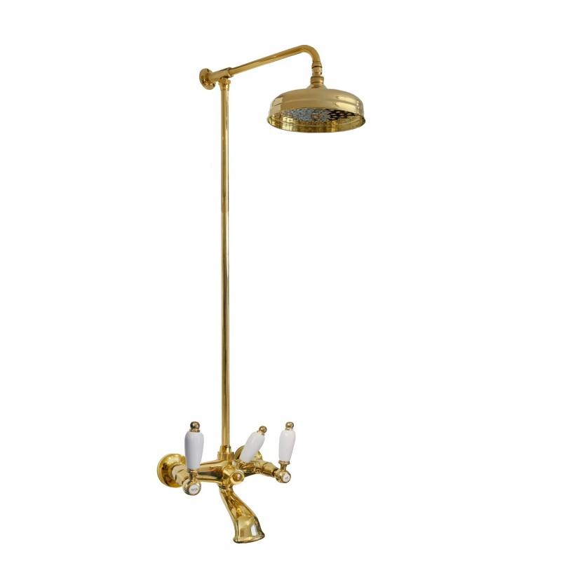 777 + 6000 Penelope blandare till dusch-badkar