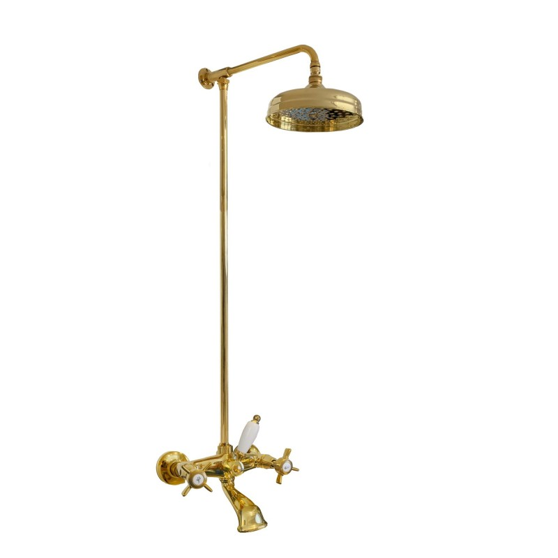 777 + 6000 Waterspring faucet to the shower-bathtub