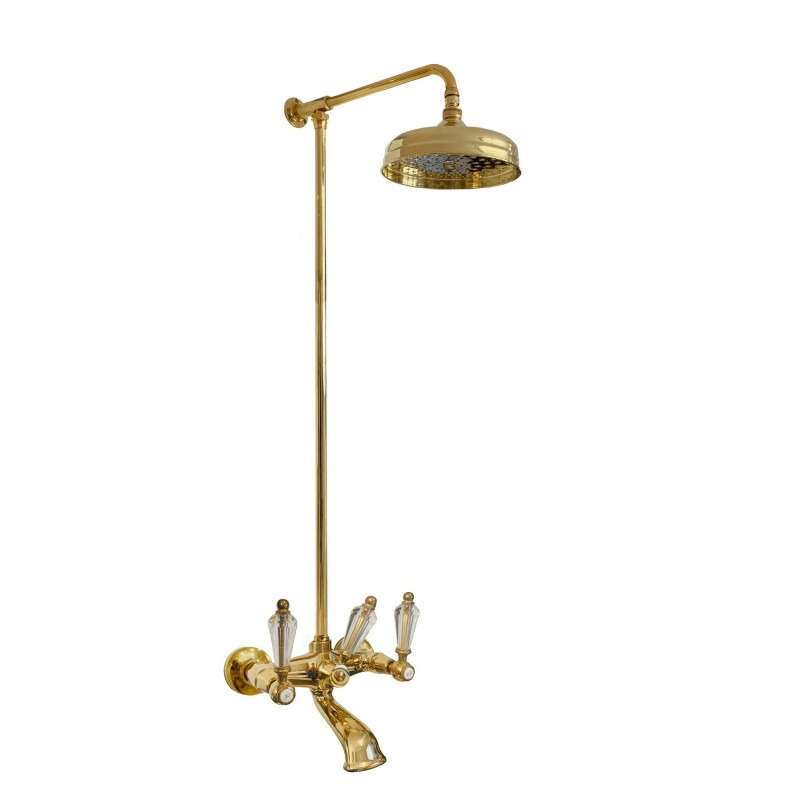 777 + 6000 Queen faucet to the shower-bathtub