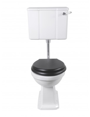 Chelsea toilet with low cistern