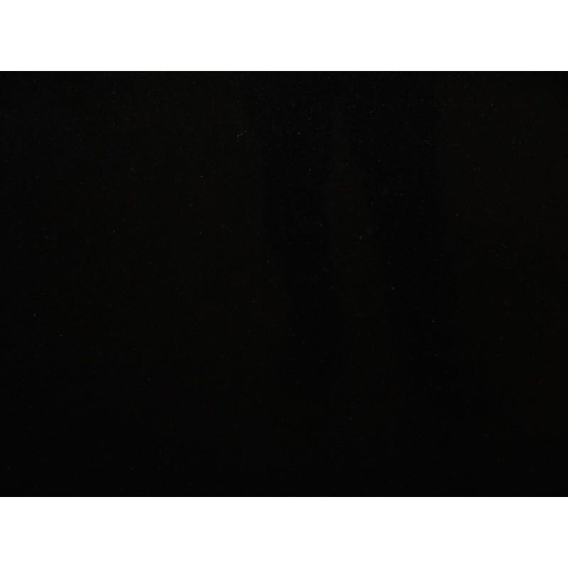 Tabletop in pure black 3 cm