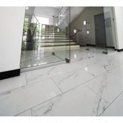 Fliser i Carrara marmor 2 cm kalibreret