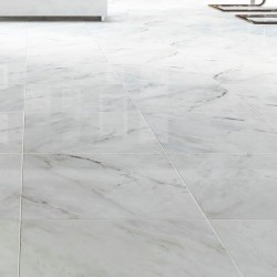 Tiles in Carrara marble 2 cm calibrated