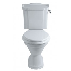 HEYFORD Toilet med fast cisterne