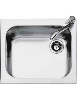Select Plus 58.5×50 cm indbygget stålvask