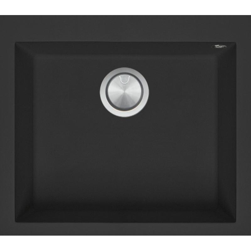 Soul 57 × 50 cm indbygget vask sort