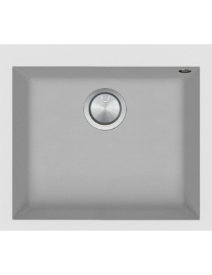 Soul 57×50 cm built-in sink white