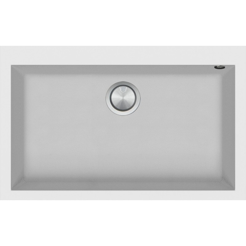 Soul  79.5×50.5 cm built-in sink white
