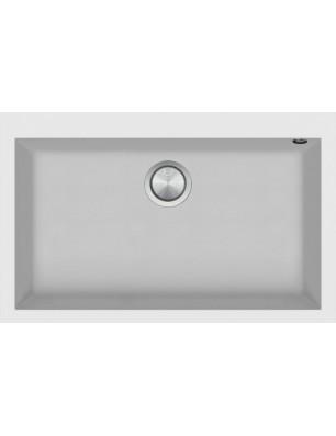 Soul  79.5×50.5 cm indbygget vask hvid