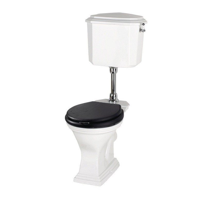ASTORIA DECO Toilet with low cistern
